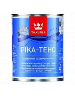 Краска Tikkurila Пика-техо, акрилатная для дерева с маслом, 0,9л