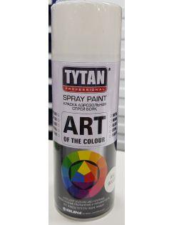 Краска аэрозольная TYTAN, 400 мл, RAL9003, белая глянцевая