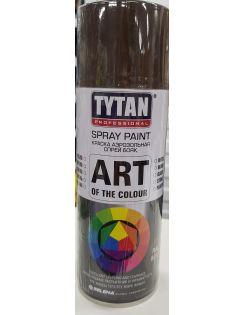 Краска аэрозольная TYTAN, 400 мл, RAL8017, коричневая