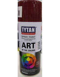 Краска аэрозольная TYTAN, 400 мл, RAL3005, красное вино