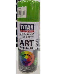Краска аэрозольная TYTAN, 400 мл, RAL6018, светло-зеленая