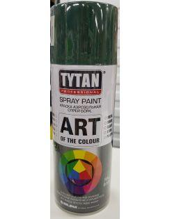 Краска аэрозольная TYTAN, 400 мл, RAL6005, темно-зеленая