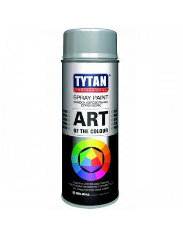 Краска аэрозольная TYTAN, 400 мл, RAL9006, металлик