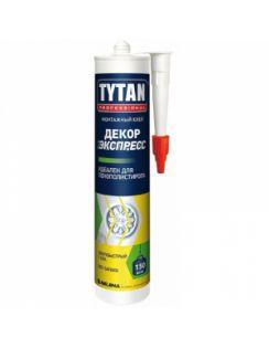 Жидкие гвозди TYTAN Декор Экспресс для лепнины, 310мл, белый