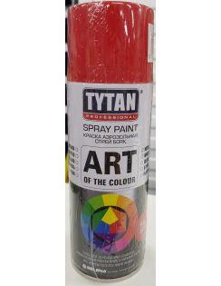 Краска аэрозольная TYTAN, 400 мл, RAL3020, красная