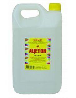 Ацетон 5,0л, пластик