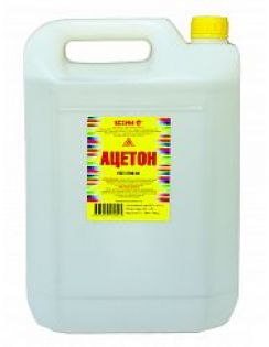 Ацетон 10,0л, пластик, Ясхим