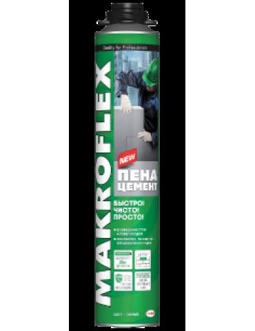 Пена-Цемент Монтажная Makroflex , 850мл, 25кгцем.